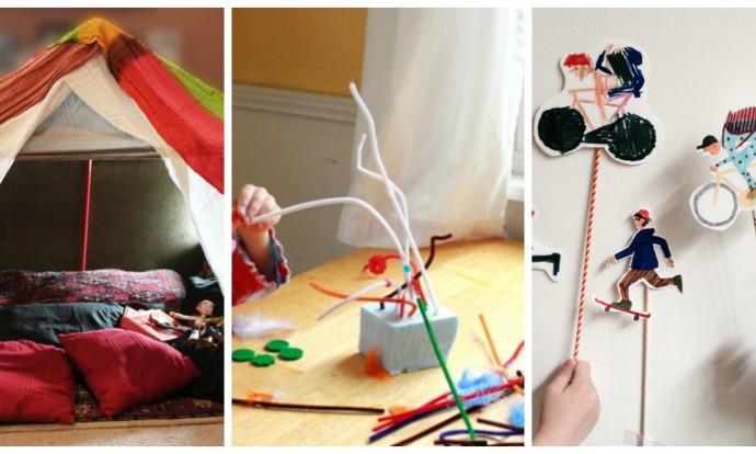 5 activitati care  iti pot tine copilul ocupat 3-5